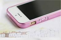 Чехол бампер для Iphone 5/5s пурпурный