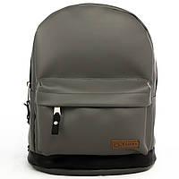 Рюкзак городской, студенческий, школьный ТМ Tiger (Украина), цвет серый графит