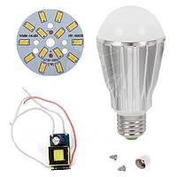 Светодиодная (LED) лампа SQ-Q17 5730 7 Вт, теплый белый, E27 (комплект диммируемый)