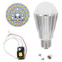 Светодиодная (LED) лампа SQ-Q17 5730 9 Вт, теплый белый, E27 (комплект диммируемый)