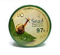 Многофункциональный улиточный гель для лица и тела с эффектом лифтинга  Food a Holic Mucus Snail Soothing Gel