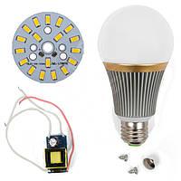 Светодиодная (LED) лампа SQ-Q23 5730 9 Вт, теплый белый, E27 (комплект диммируемый)