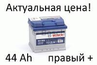 Аккумулятор Bosch S4 44 Ah 0092S40010 Пусковой ток 440 A, Правый +, Размеры на картинке