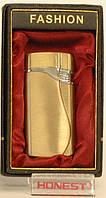 Подарочная зажигалка FASHION золотистая модель PZ5435