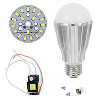 Светодиодная (LED) лампа SQ-Q17 5730 9 Вт, холодный белый, E27 (комплект диммируемый)