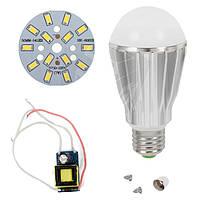 Светодиодная (LED) лампа SQ-Q17 5730 7 Вт, холодный белый, E27 (комплект диммируемый)