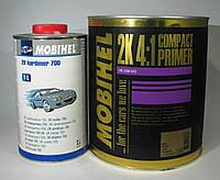 Грунт акриловый HS 4+1 Mobihel (компактпраймер) 3,5л + отвердитель 700 1л  Серый
