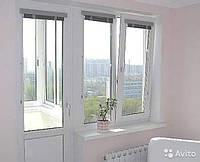 Балконный блок металопластиковый