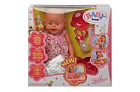 Кукла для девочек многофункциональный пупс baby born  800058-5