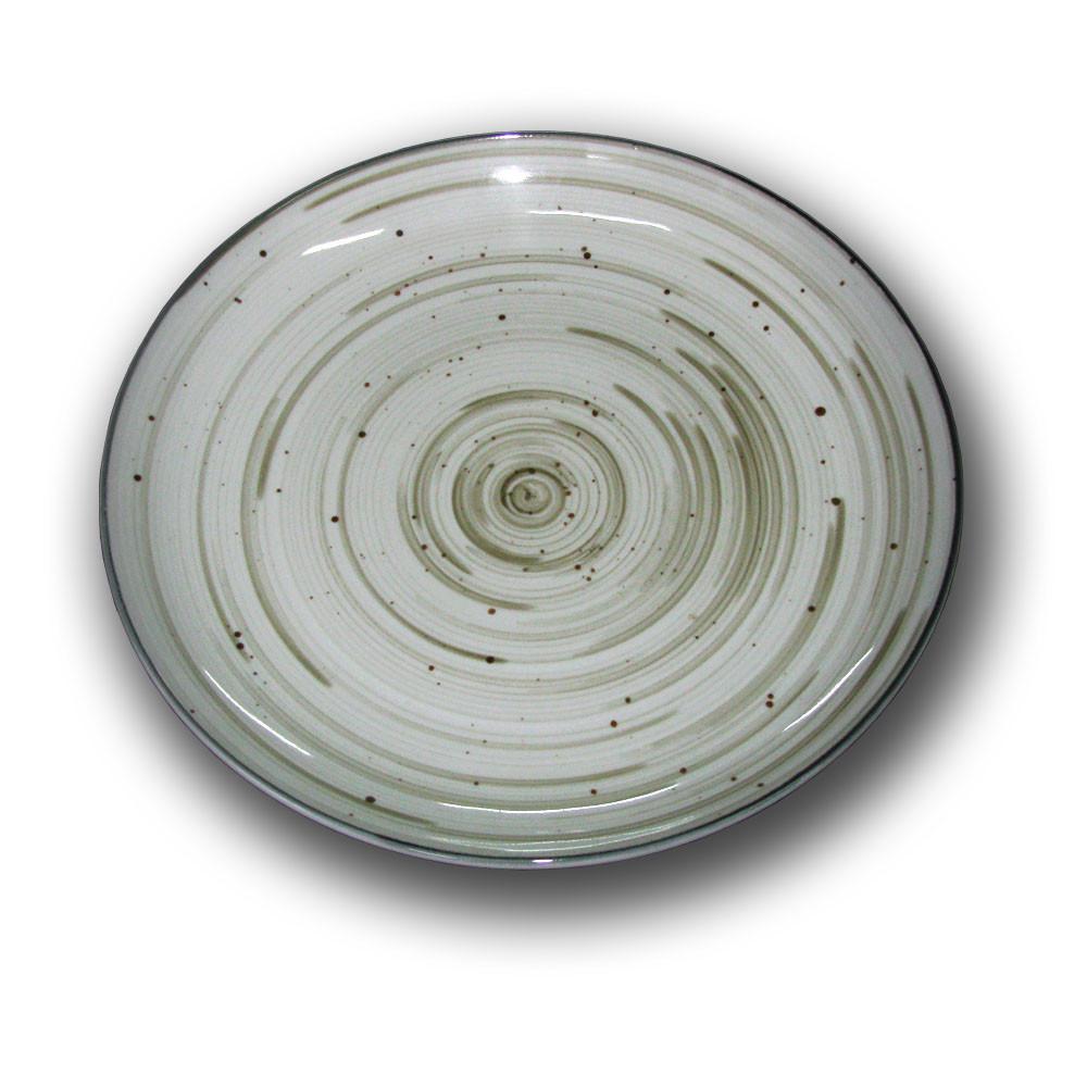 Тарелка фарфоровая Siesta 310мм. Граффити