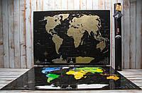 Скретч карта світу My Map Black Edition ENG в тубусі , фото 1
