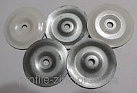 Шайба тарельчатая d 50*6. s 0.75 круглая для ПВХ мембраны, фото 1