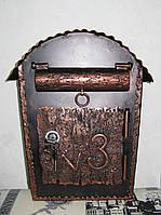Почтовый ящик кованый, фото 1