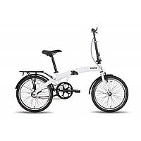 Велосипед 20'' PRIDE MINI 1sp белый глянцевый 2016