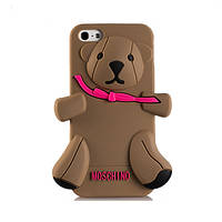 Чехол для iPhone 5/5S от модного бренда Moschino 3D Teddy