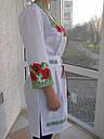 Женские вышитые платья с корсетным поясом, фото 3