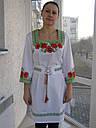 Женские вышитые платья с корсетным поясом, фото 5