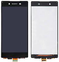 Дисплей (LCD) Sony E6533 Xperia Z3+ DS/ E6553/ Xperia Z4 с сенсором черный
