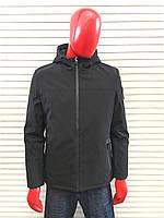 Мужская классическая чёрная весенняя куртка Armani