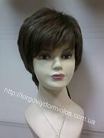 Короткий парик с имитацией кожи головы Virginia