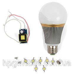Светодиодная (LED) лампа SQ-Q23 7 Вт, холодный белый, E27 (комплект)