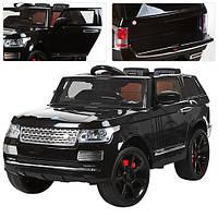 Детский электромобиль Джип Land Rover M 3153 EBRS-2  черный***