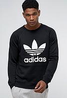 Свитшот,кофта Adidas, черного цвета.