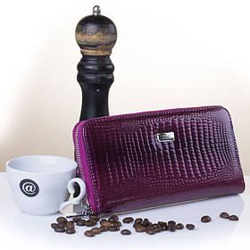 Кошелек клатч женский кожаный Balisa LT-Purple на молнии