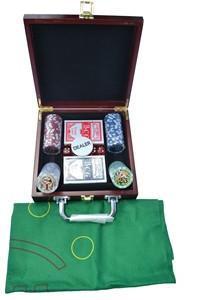 Набор для игры в покер, 100ф с номиналом.
