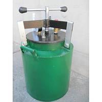 Автоклав зеленый электрический маленький 20л. винт
