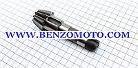 Вал Z=9 редуктора коробки передач дизельных и бензиновых мотоблоков червячного типа