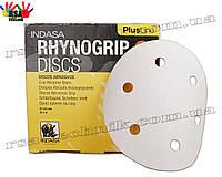 INDASA Шлифовальные диски 125 мм Rhynogrip plus line на 6 или 8 отверстий зерно P40