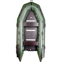 Килевая моторная четырехместная надувная лодка Bark BT-330S четырехместная. Бесплатная доставка!