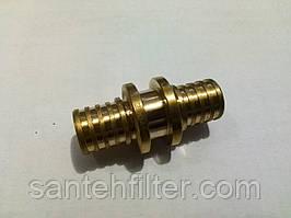 Муфта 25 - 25 соединительная аналог Рехау (Rehau) Heat-Pex (Хитпекс)