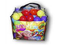 Шарики  для сухих бассейнов, 80 мм 100 шт в сумке 01159