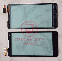 Сенсор Prestigio Multiphone 5044 DUO тачскрін чорний