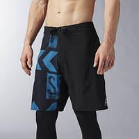 Мужские шорты спортивные Printed Board Short BK4538 - 2017