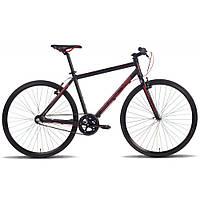 Велосипед 28'' PRIDE BULLET черно-красный матовый 2016