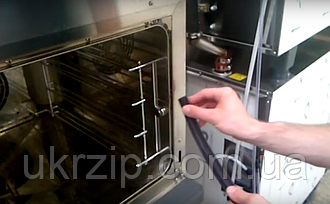 Видео по замене уплотнителя GN1110/GN1000 в печах Unox XB, XVC, XV, XF, XBC