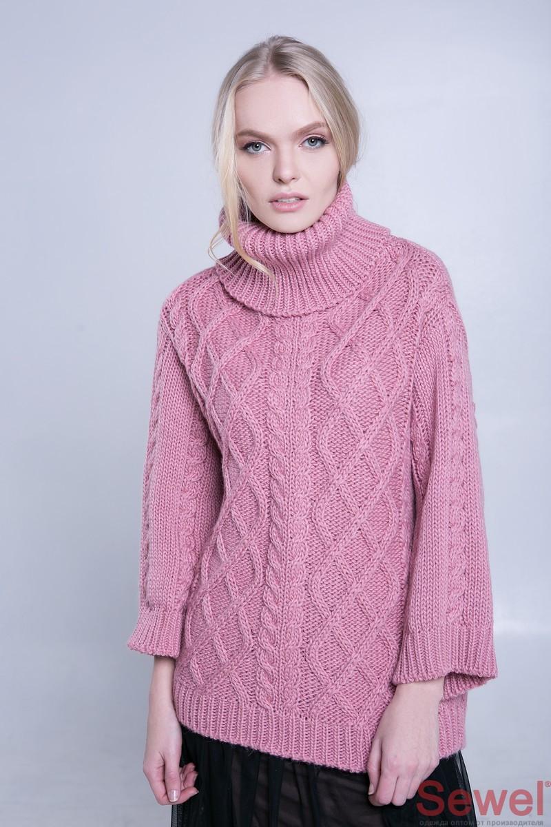 Купить теплый свитер женский