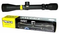 Оптический прицел BSA Sweet 3-9х40 MilDot, стеклянные линзы, для калибра 22cal, +фокусировка