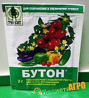 """Комплексный стимулятор роста, бутонизации,цветения и плодообразования """"Бутон"""" 2 г, Грин Бэлт"""