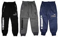 Утепленные спортивные брюки для мальчика, Seagull, размер-104,110,116,122,, арт. 58159