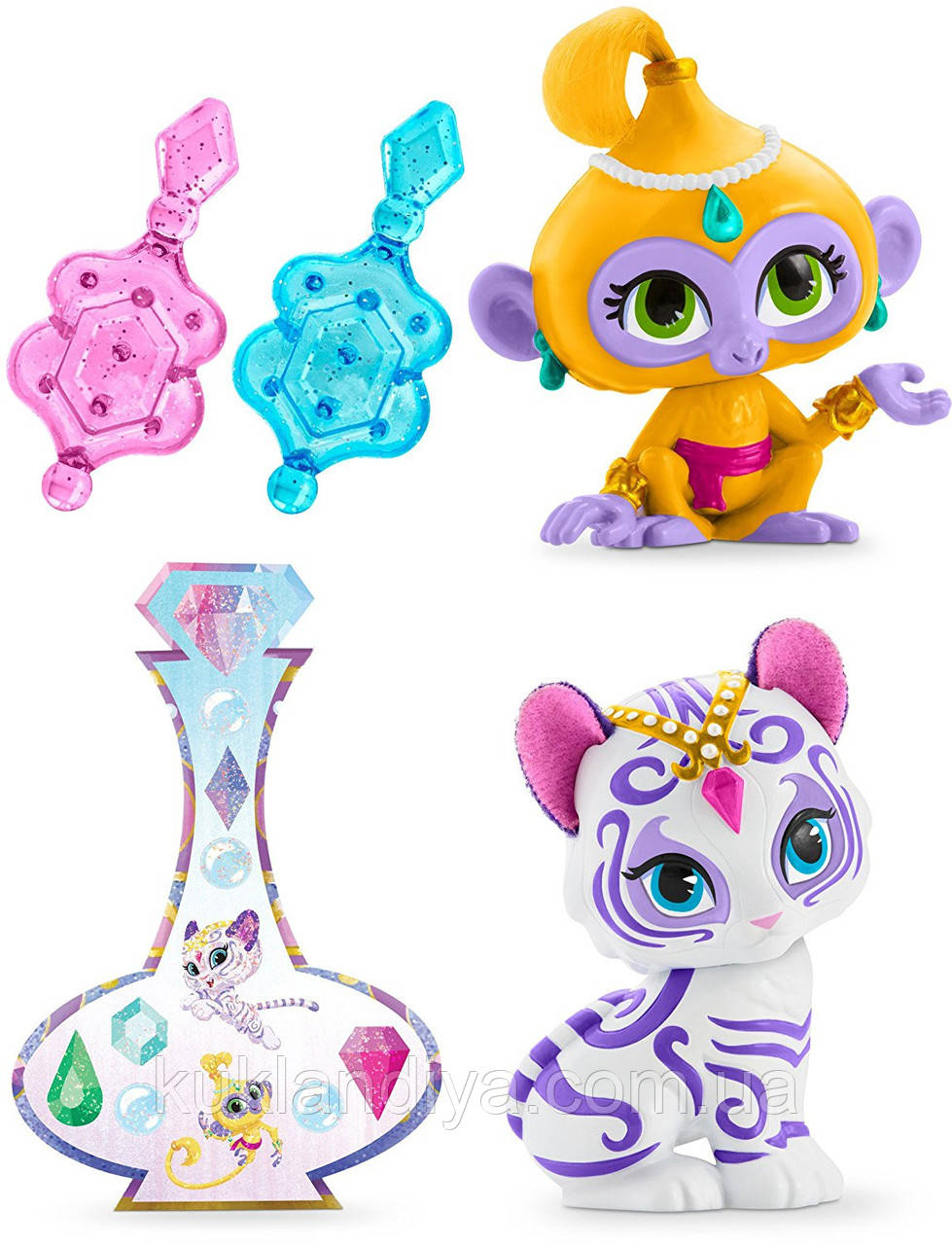 Набор питомцев Нала и Тала Shimmer and Shine Fisher-Price
