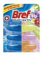 Туалетный блок Bref Duo-Aktiv Арома Микс 3 запаски х 50 мл