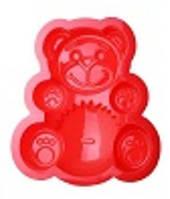 """Силиконовая форма для выпечки кекса """"Медведь"""" 19*16*4 см"""