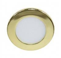 Светодиодный светильник Feron AL500 3W золотой 27929