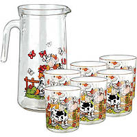 Набор Borgonovo Dulcinea кувшин + 6 стаканов