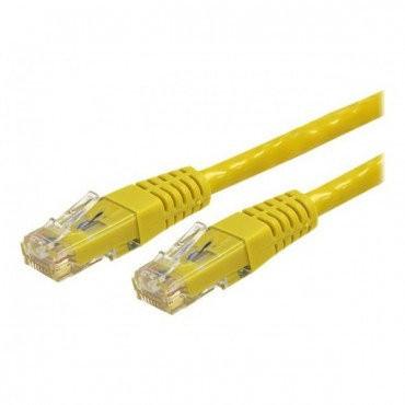 Патч-корд pch Lp UTP, RJ45, кат. 5Е, 0,5 m (желтый) (3045)