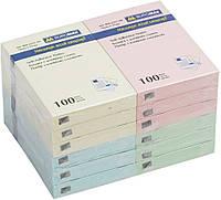 """Бумага клейкая """"Buromax"""" 76*51 100цветных листов  ВМ2311-99"""